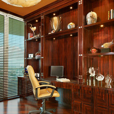 Contemporary Home Office by Arnold Schulman Design Group
