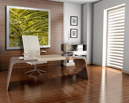 Zen Garden Home Office Design Ideas Remodels Photos