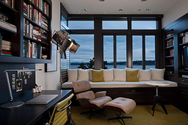 Modern Home Office by DeForest Architects