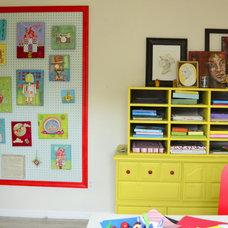 Traditional Home Office Art Studio
