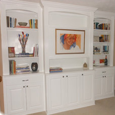 Traditional Home Office by True Carpentry and Cabinetry