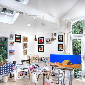 Artist's Studio in a Carriage House Addition