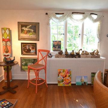 Artist studio and lounge