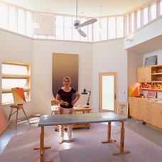 Modern Home Office by BARRETT STUDIO architects