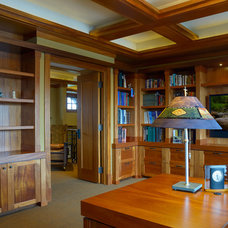 Craftsman Home Office by SKD Architects