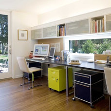 Modern Home Office by ASAP•house Inc - Studio Kiss