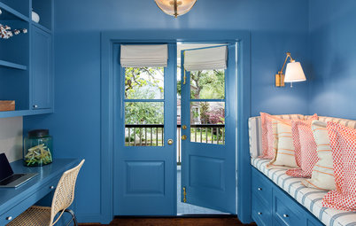 New This Week: 2 Rooms Bursting With Blue