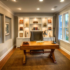 Traditional Home Office by Ashton Woods