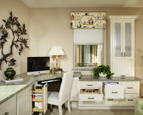 Inspiration For An Asian Home Office Remodel In Sacramento