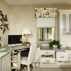 asian home office by Katherine Kawaguchi