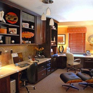 ASID Arizona South award winning home office