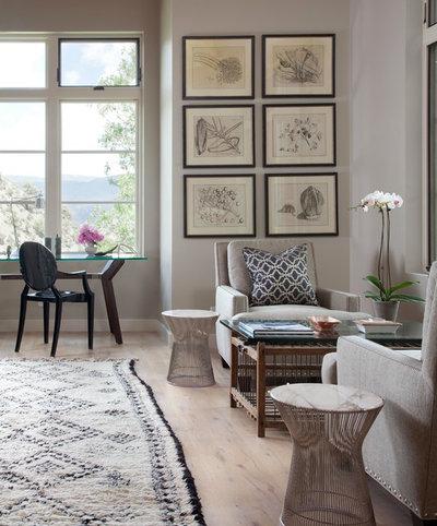 Montagne Bureau à domicile by Savant Design Group