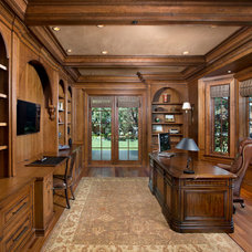 Traditional Home Office by RKI Interior Design