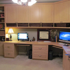 Traditional Home Office by Atlanta Closet & Storage Solutions
