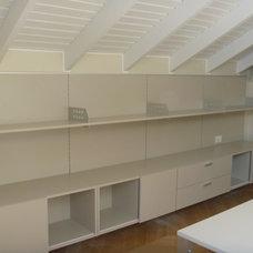 Modern Home Office by Paula Bianchi