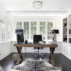 Transitional Home Office by Granoff Architects