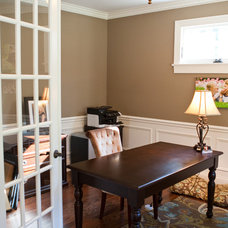 Traditional Home Office by Magnolia Custom Homes