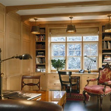 Traditional Home Office by Austin Patterson Disston Architects