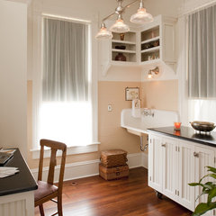 traditional home office by Volz & Associates, Inc.