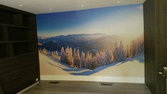 Austria snow Wall Mural