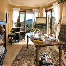 Mediterranean Home Office by Authentic Durango Stone™