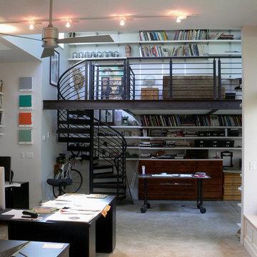 Author and Illustrator studio addition