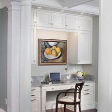 Transitional Home Office by Anthony Wilder Design/Build, Inc.