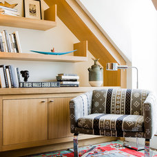 Contemporary Home Office by Annie Hall Interiors