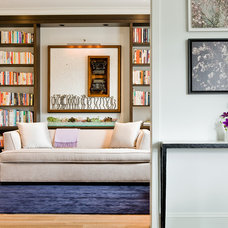 Modern Home Office by David Sharff Architect, P.C.