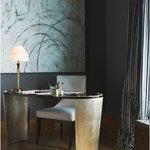 David Frisch Becca Antique Gold Bronze Table Lamp
