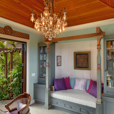Tropical Home Office by Smith Brothers