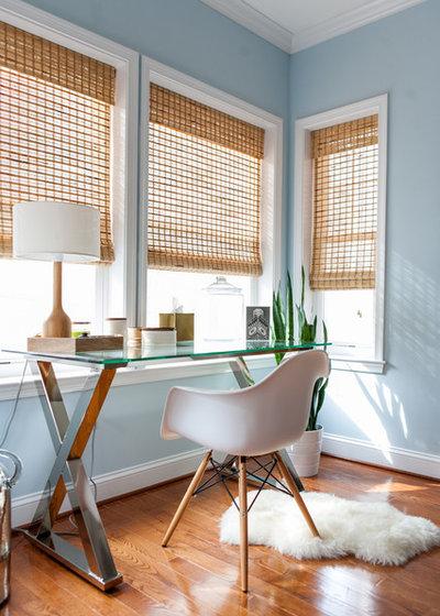 トランジショナル ホームオフィス・仕事部屋 by Folding Chair Design