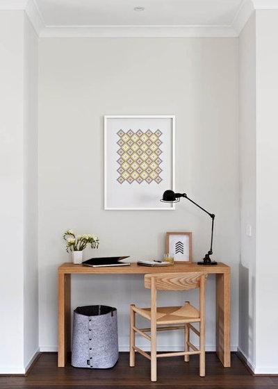 コンテンポラリー 書斎・ホームオフィス by Orbit Homes