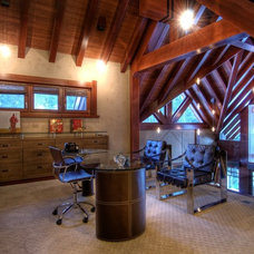 Contemporary Home Office by Decorative Painting & Plastering Concepts Inc.