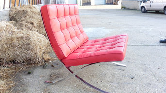 Barcelona Chair Recovered