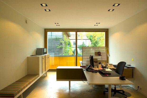 Contemporary Home Office Barcode House, MVRDV