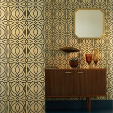 Modern Home Office Baroque Wallpaper from Design Public