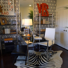 Modern Home Office by Carlyn And Company Interiors + Design