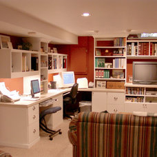 Traditional Home Office by Closet Organizing Systems