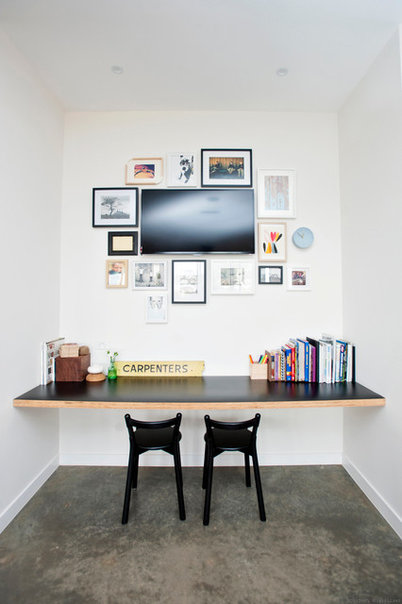 Contemporary Home Office by Howden Homes