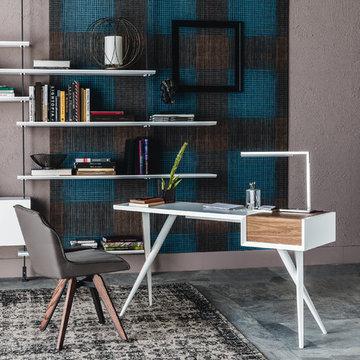 Batik Office Desk by Cattelan Italia