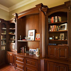 Traditional Home Office by Bill Fry Construction - Wm. H. Fry Const. Co.