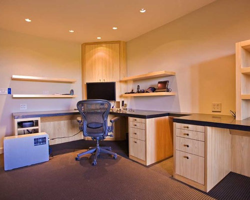 Home Office Design, Bay Area Custom Cabinets