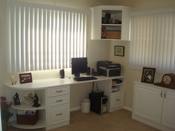Traditional Home Office by Quality Components of Tampa Bay llc