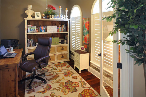 Traditional Home Office by Devonshire Custom Homes