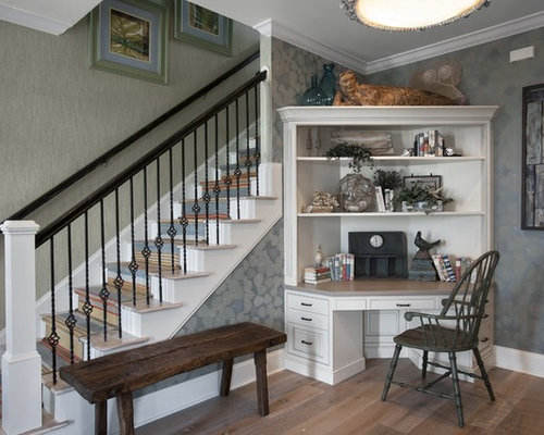Foyer desk ideas, pictures, remodel and decor