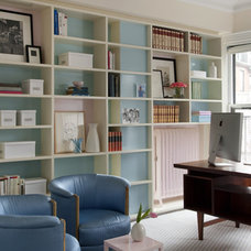 Eclectic Home Office by Ruhl Walker Architects