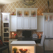 Traditional Home Office by Design Insight