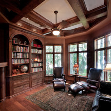 Traditional Home Office by Barenz Builders