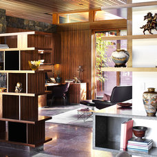 Asian Home Office by Suzanne Hunt Architect